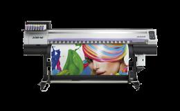 Solventní tiskárna MIMAKI JV300 pro tisk lze použít solventní i sublimační inkoust