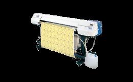 Kvalitní výstup potištěného materiálu s velkoplošnou textilní tiskárnou