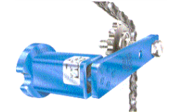 Příslušenství speciálních řetězů - elastomerové napínáky dodává CONTRA PRAHA