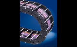 Kabelové řetězy s variabilní šířkou z plastu či hliníku