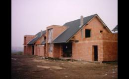 Stavební a zednické práce, hrubá stavba - Zednictví Antonín Habiňák