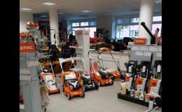 Prodej a zapůjčení kvalitní zahradní techniky Zlínsko