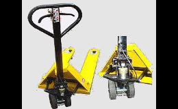 Prodej paletových vozíků, náhradní díly, záruční a pozáruční servis