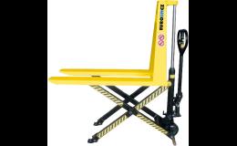 Pronájem všech typů paletových a vysokozdvižných vozíků - Dačice