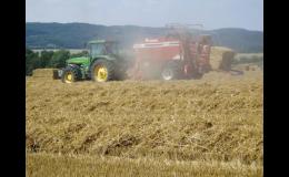 Zemědělské stroje Zemědělského družstva vlastníků Fryšták