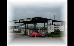 Levné pohonné hmoty u čerpací stanice ve Fryštáku