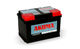Akumulátory Akuma vynikají vysokým startovacím výkonem