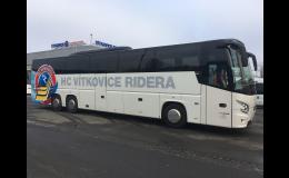Luxusní autobusy a mikrobusy pro bezpečné cestování