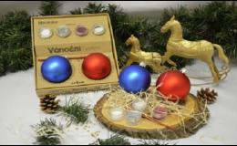Vánoční předměty a dárky od pražské společnosti Arei