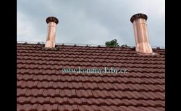 Návrh, dodání, montáž komínů a kouřovodů Luboš Czyž KOMÍNY-KRBY