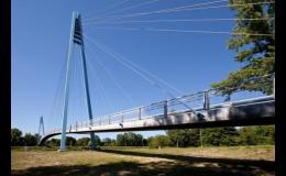 Vysokopevnostní beton pro stavbu mostů, subtilní konstrukce