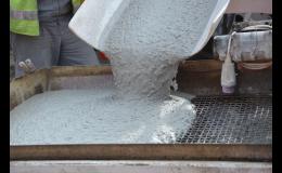 Cementový potěr CemFlow vyrábí TBG Pražské malty s.r.o.