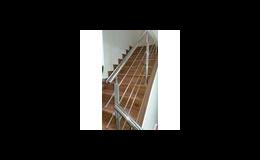 Výroba atypického schodiště z vinylu na zakázku Bukoma group