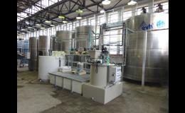 Čističky odpadních vod z technologických a výrobních průmyslových provozů