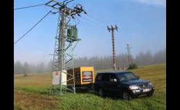 Pronájem dieselagregátů při odstávkách elektřiny