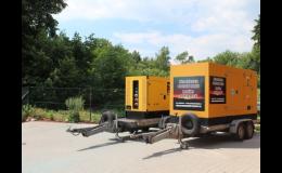 Dieselagregáty, elektrocentrály na stavby bez el. přípojek