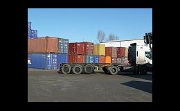 Pronájem ocelových námořních kontejnerů