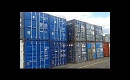 Zapůjčení námořního kontejneru ke skladování zboží