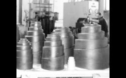 Kuželové pružiny pásové na míru - SV výrobní Prostějov