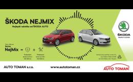 Nabídka modelů vozů Škoda s financováním