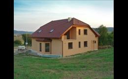 ZEDNICTVÍ JENEŠ staví rodinné domy na klíč