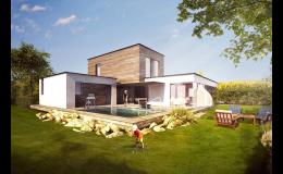 Návrhy řešení stavby domu včetně vizualizace, Kuřim