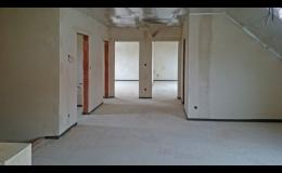 Lité podlahy od stavební firmy ZEDNICTVÍ JENEŠ