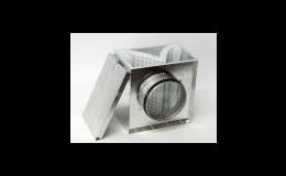 Filtrbox pro kruhové potrubí - Ventilátory Zlín - Karel Ušela