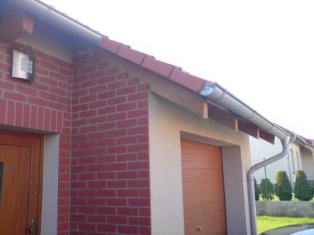 Podbití střechy palubkami postup