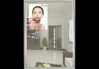 HONGKONG; Reklamní zrcadlo