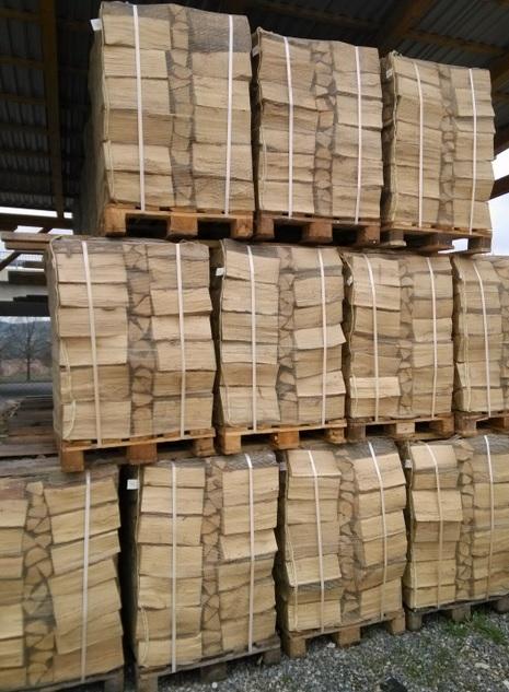 Pytle na dřevo i velkoobjemové vaky BIG-BAG