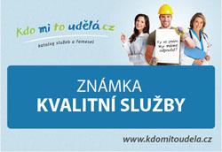 Firma INSTALA KRT obdržela známku kvalitní služby