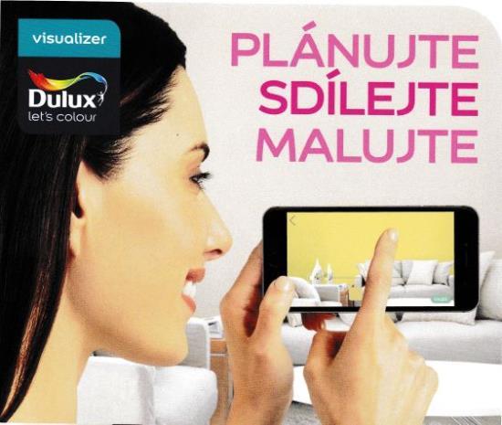 Přemýšlíte, jak vymalovat byt? Aplikace Dulux Visualizer vám pomůže!