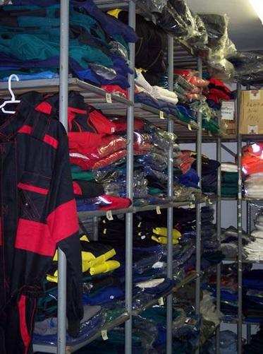 Pracovní oděvy na zakázku