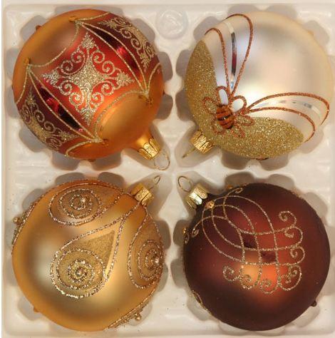 E-shop Vánoční ozdoby, DUV – družstvo: tradiční skleněné ručně vyráběné ozdoby