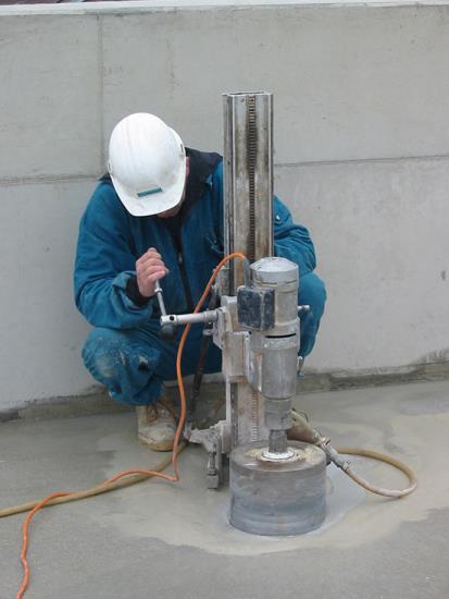 Vrtání a řezání betonu diamantem zaručuje maximálně efektivní výsledky