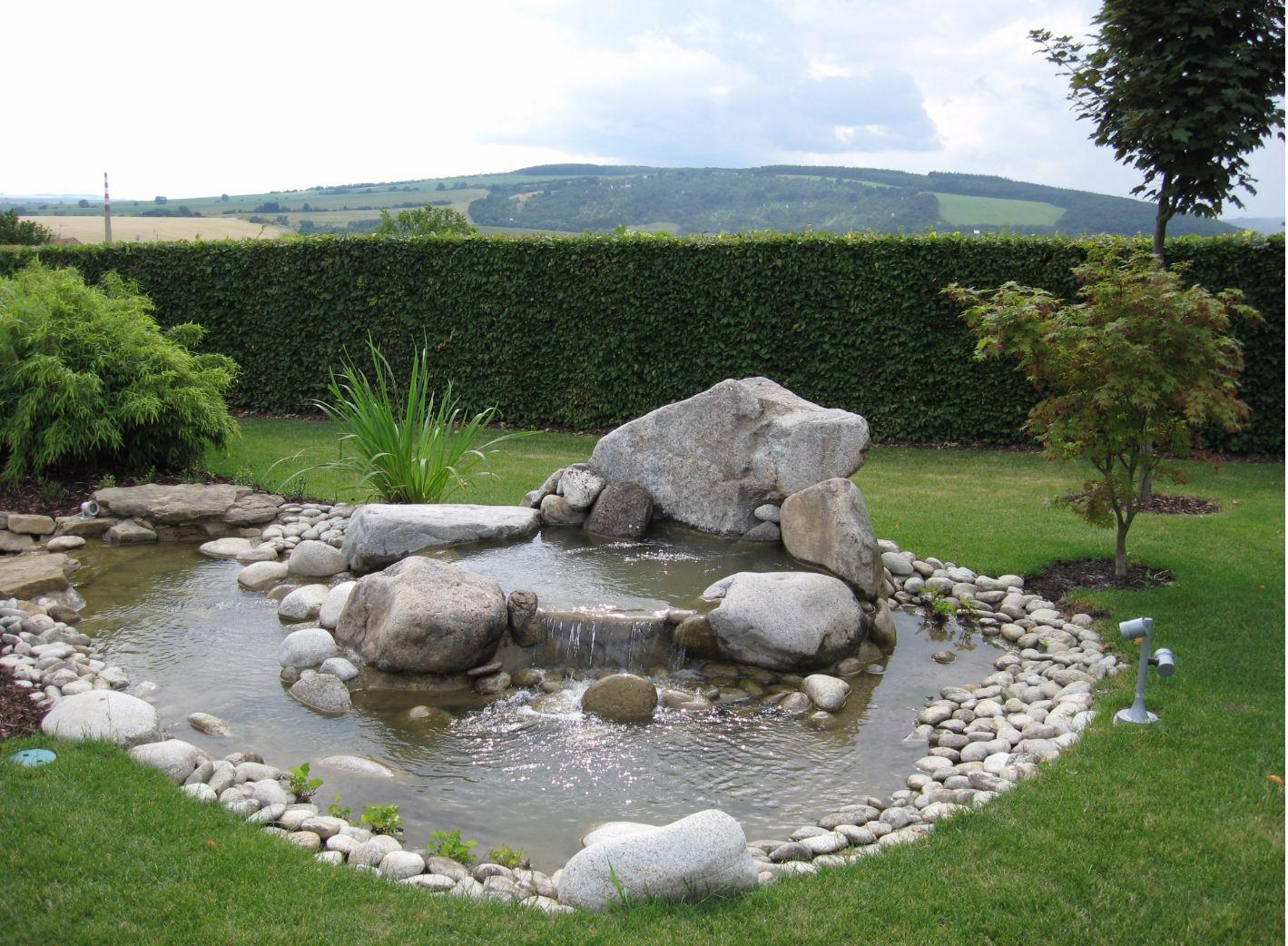 Zahradní jezírka oživí vaši zahradu