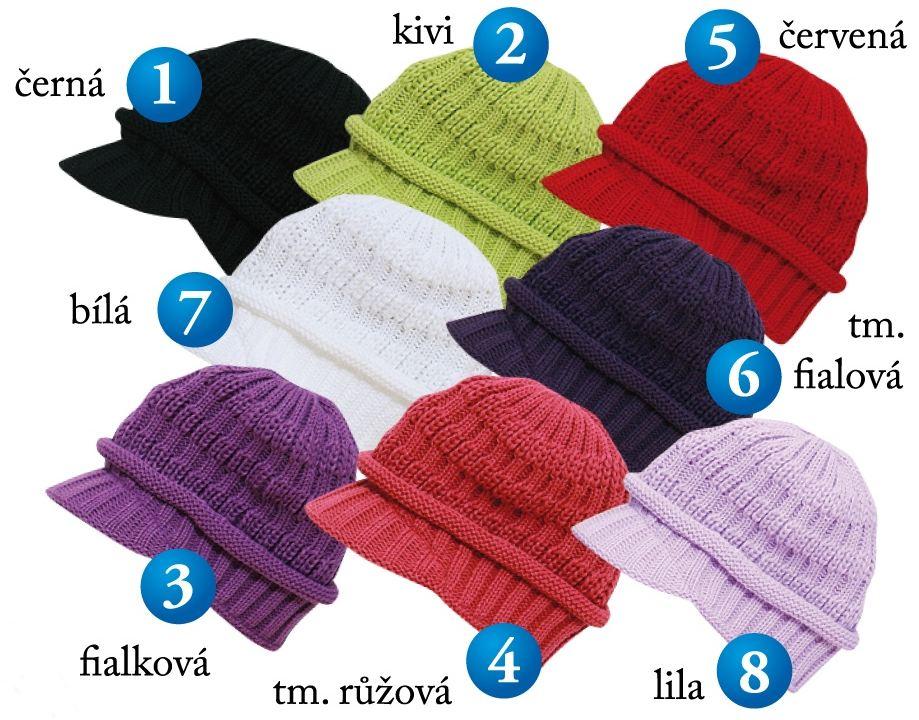 Široký výběr typů i barev