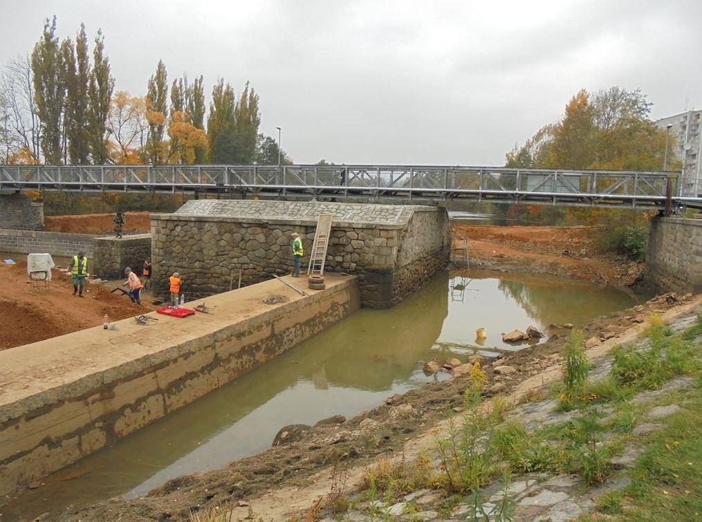 Stavba nových mostů