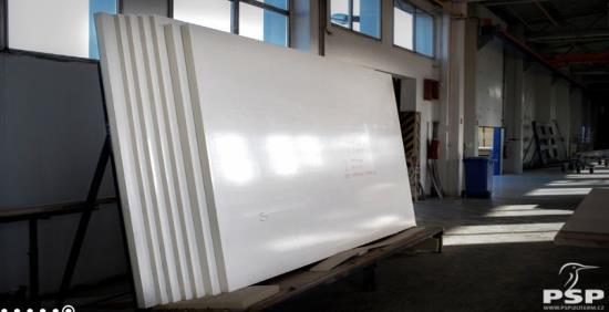 Izolační panely pro stavebnictví i jiné využití vyrábí PSP Izoterm