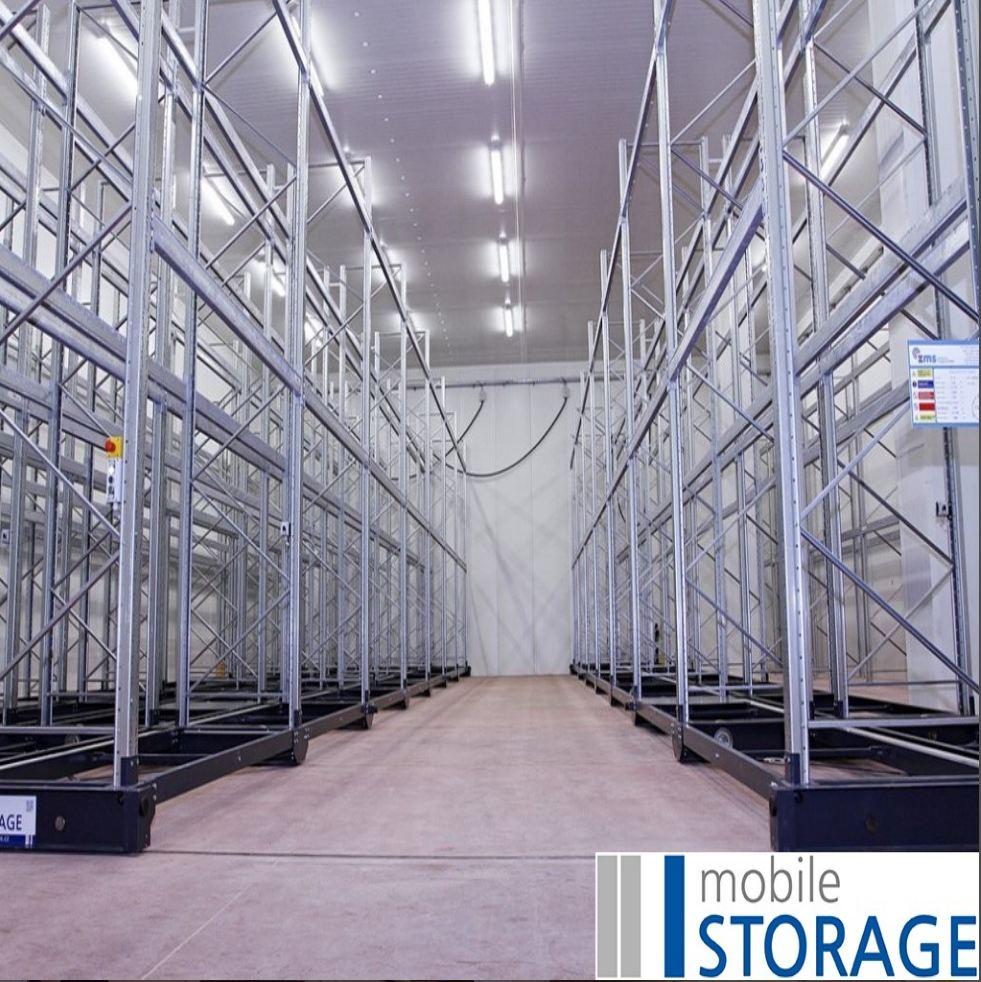 Mobile Storage: pojízdné vybavení skladů i stacionární regály na míru