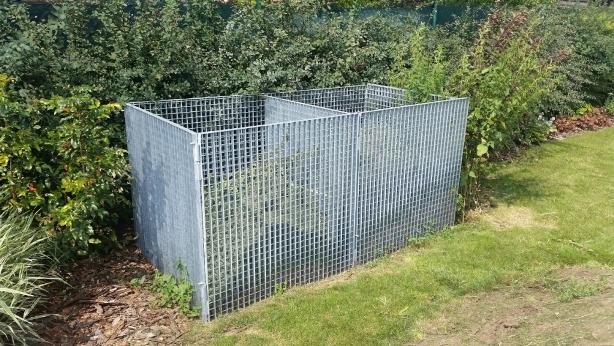 Kompostér - pozinkovaný roštový kontejner