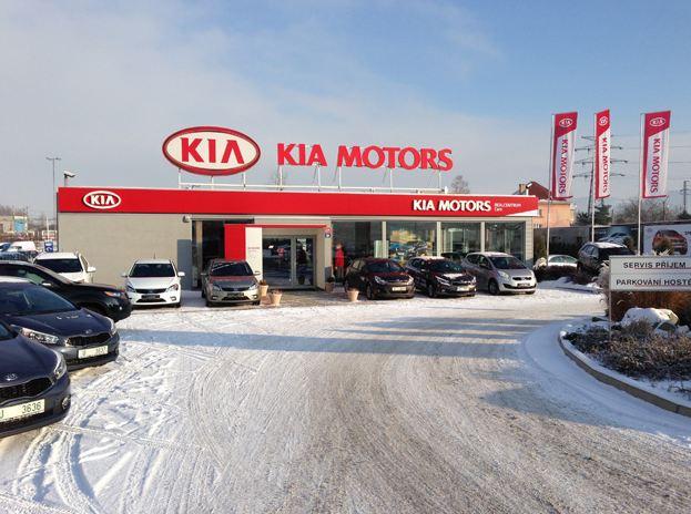 Realcentrum Cars: Autosalon a autorizovaný KIA Servis Ústí nad Labem