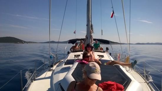 plavba FIT lodí po Jadranu