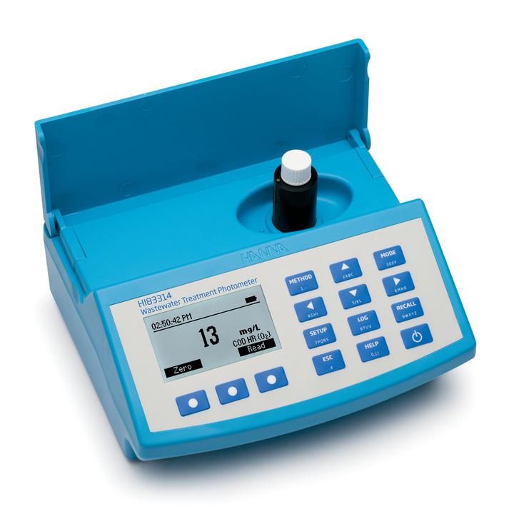 Při analýze vody upotřebíte náš fotometr