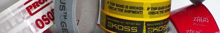 Potištěné a výstražné pásky vám zajistí MITOMA Rolls