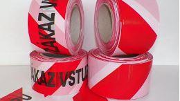 Výstražné pásky udrží bezpečnost vašeho objektu