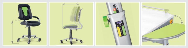 Rostoucí židle a stoly od ON LEAD CZ jsou jistotou pro vaše děti