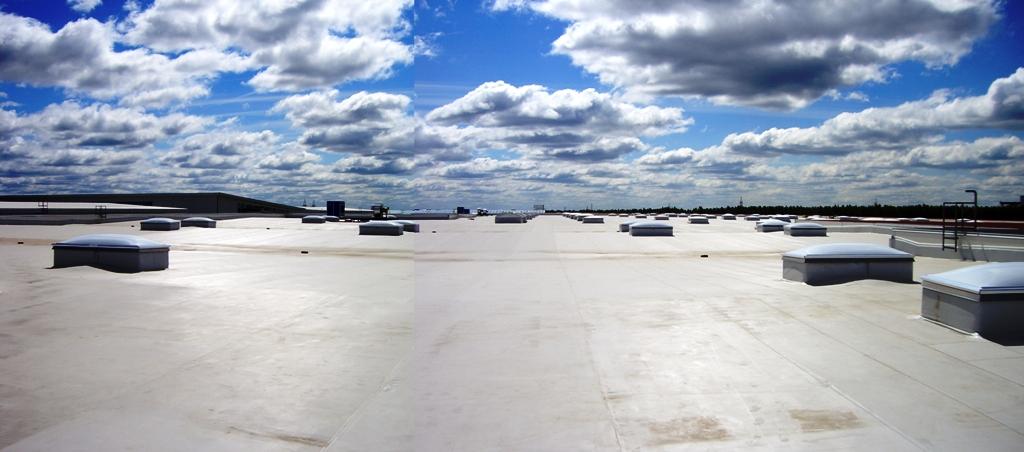 Zajistíme budovy za pomoci hydroizolační fólie