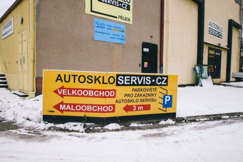 Navštivte Autosklo Servis v Praze